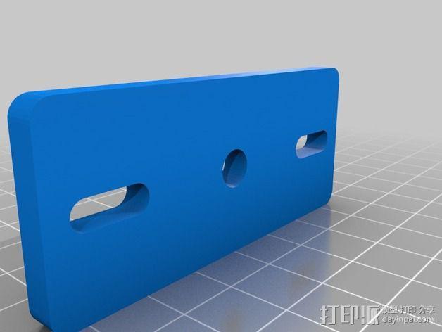BPS 挤出机适配器 3D模型  图4