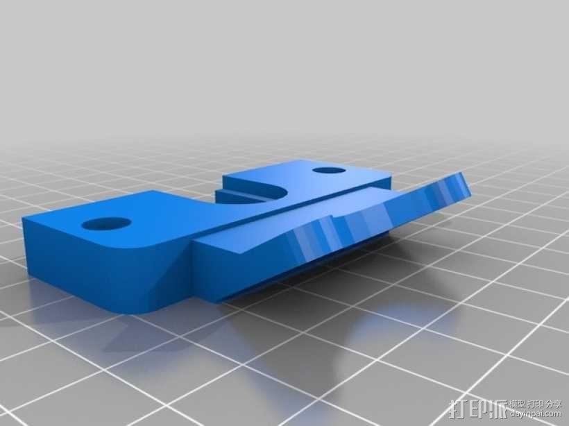 E3D v6喷头支架 带风扇支架 3D模型  图1
