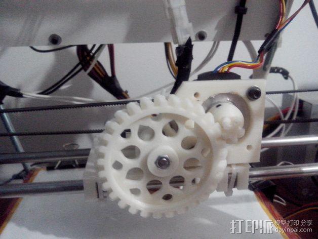 轻型挤出机 3D模型  图1