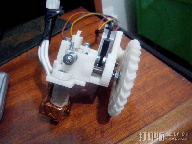 轻型挤出机 3D模型  图5