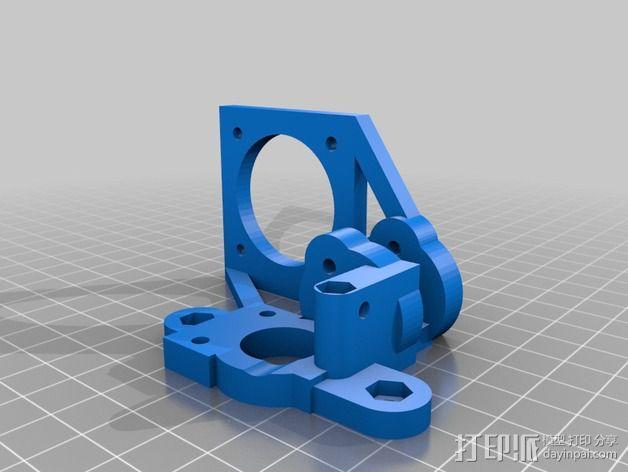 轻型挤出机 3D模型  图6