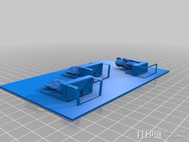 图案触摸板 3D模型  图5