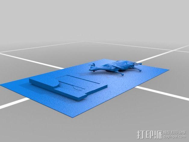 图案触摸板 3D模型  图6