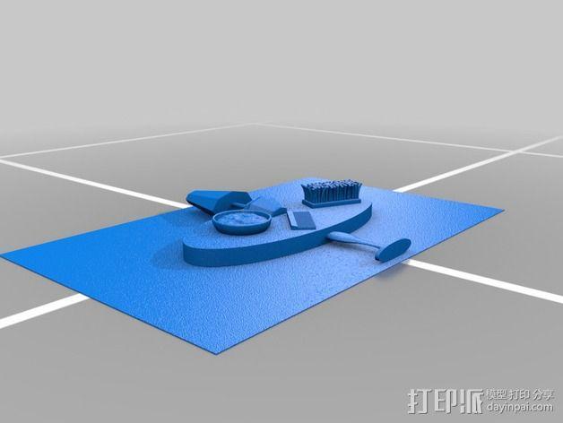 图案触摸板 3D模型  图8