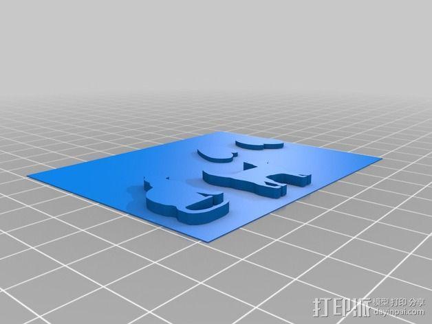 图案触摸板 3D模型  图10