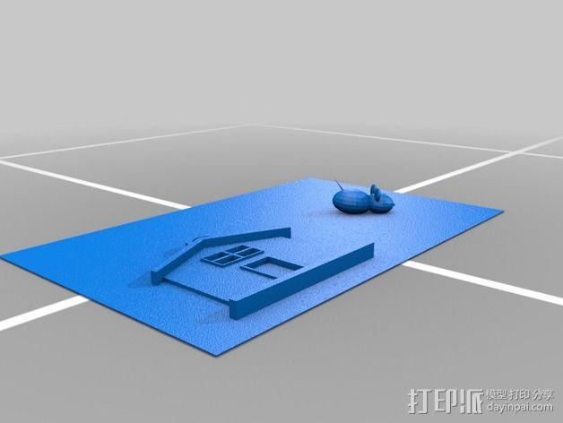 图案触摸板 3D模型  图11
