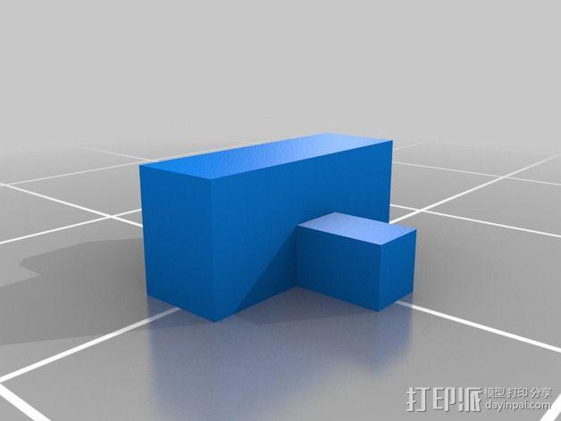 限位开关 3D模型  图12
