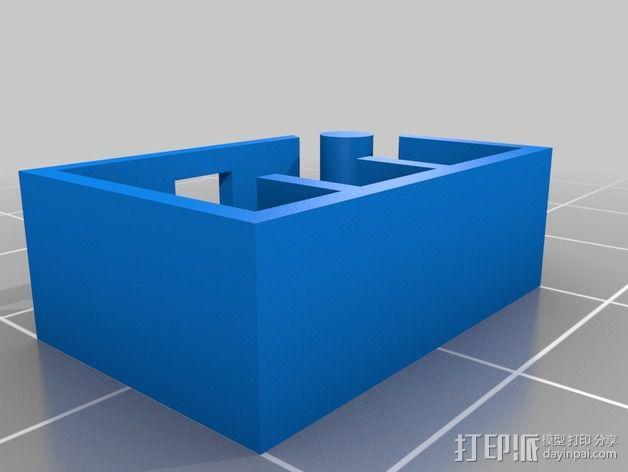 限位开关 3D模型  图14