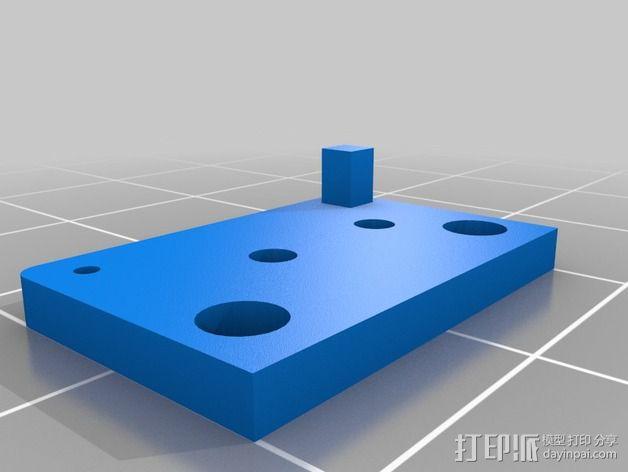 限位开关 3D模型  图13