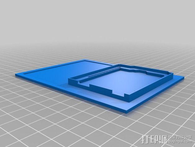 电路板适配器 电路面板 3D模型  图2