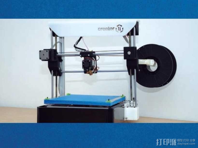 Creator 3D打印机套件 3D模型  图2