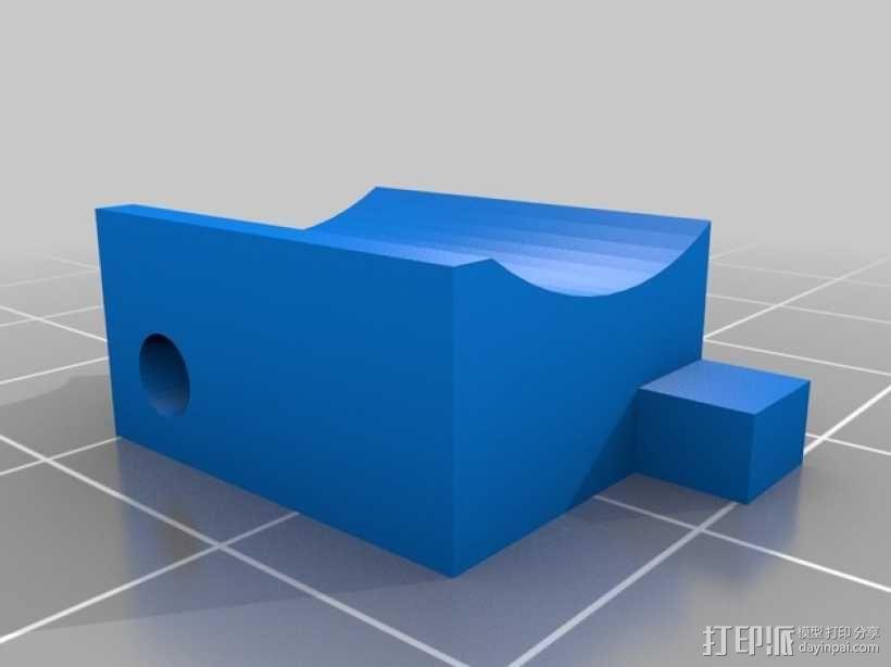 喷头支架 3D模型  图5