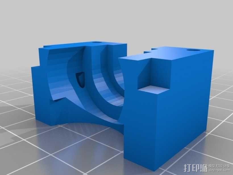 喷头支架 3D模型  图7
