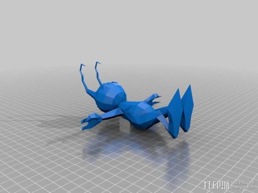 Shadow蚂蚁 3D模型  图1