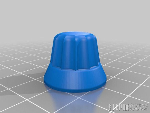 Makerfarm i3打印机控制旋钮 3D模型  图2