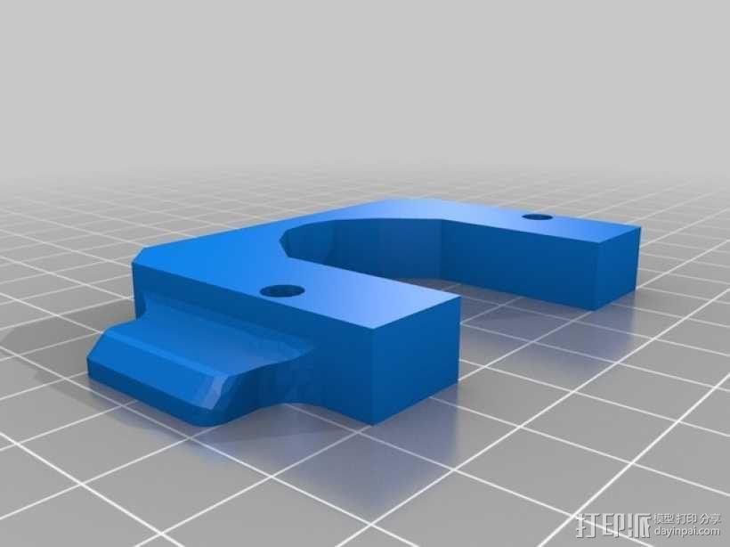 Prusa i3打印机连接器支架 3D模型  图2