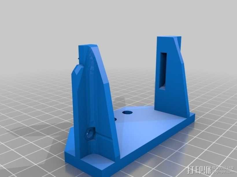 Prusa i3打印机连接器支架 3D模型  图1