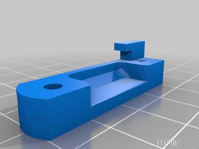 Prusa i3打印机连接器支架 3D模型  图4