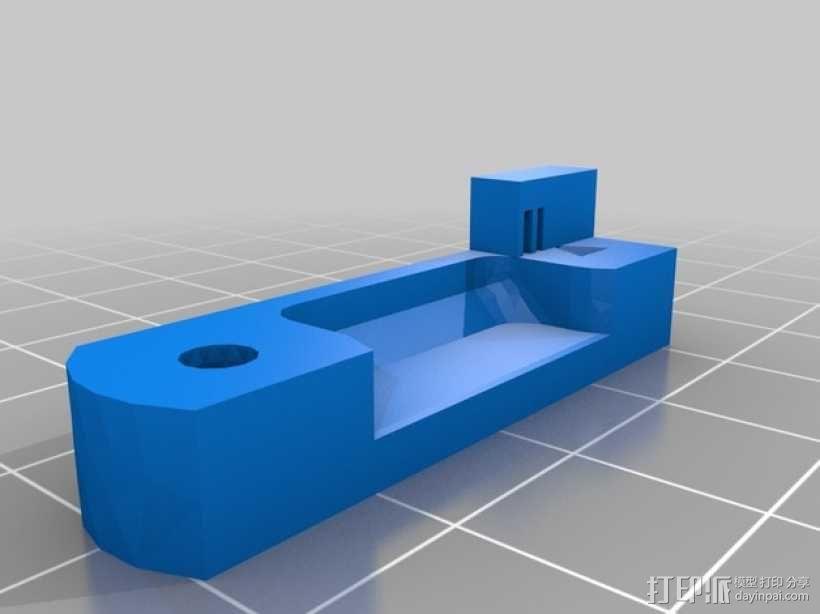 Prusa i3打印机连接器支架 3D模型  图3