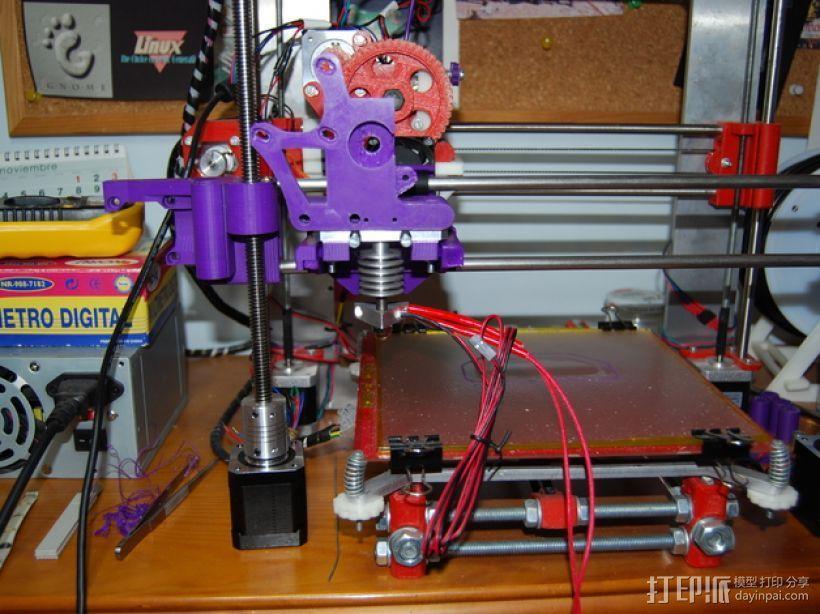 Prusa i3打印机连接器支架 3D模型  图7