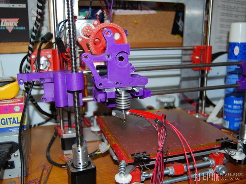Prusa i3打印机连接器支架 3D模型  图8