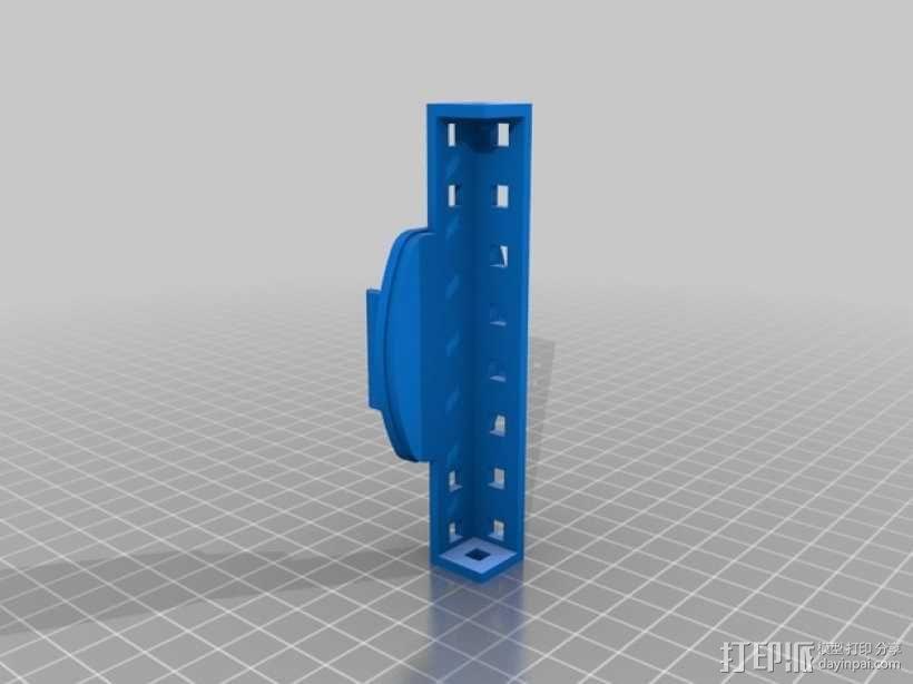 相机支架适配器 3D模型  图2