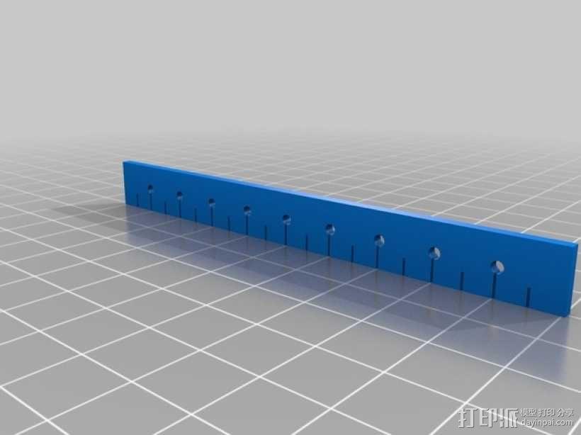 尺子 3D模型  图2