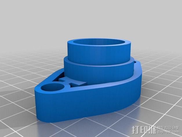 Bowden鲍登挤出机 3D模型  图3