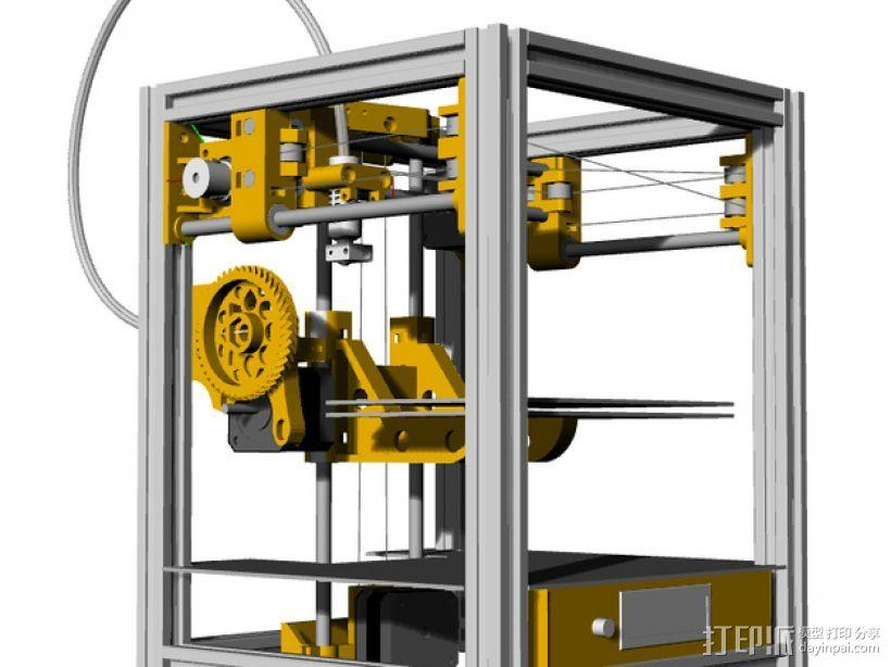 Tantilot打印机 3D模型  图1