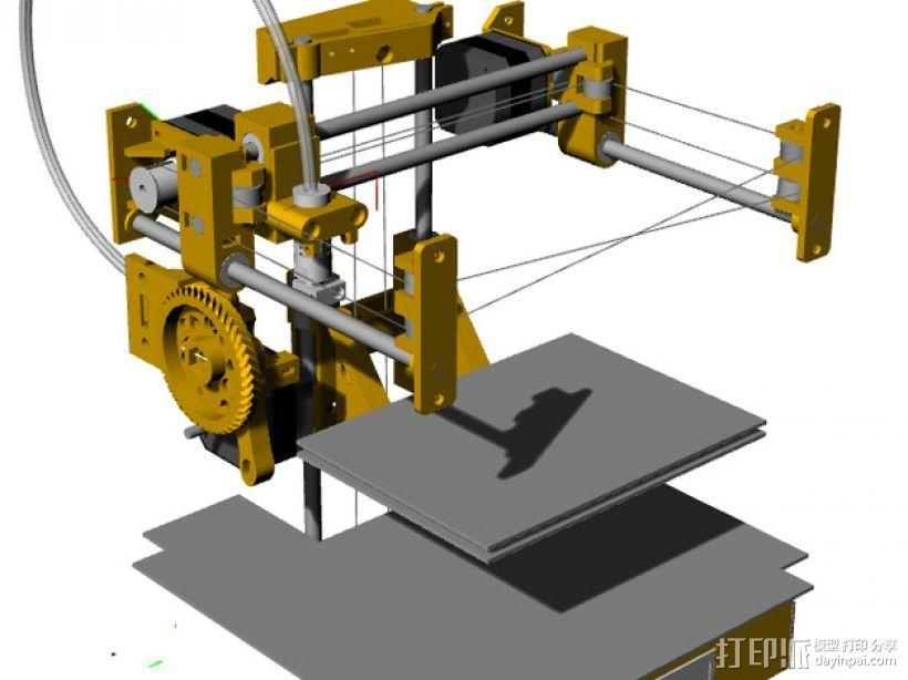 Tantilot打印机 3D模型  图17