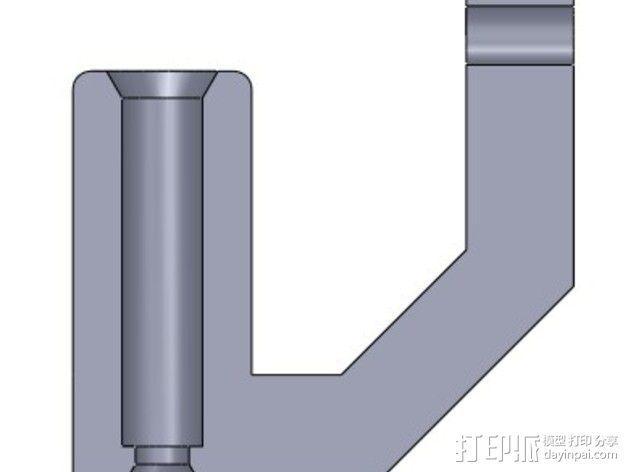 线材导线器 线材清洁器 3D模型  图2