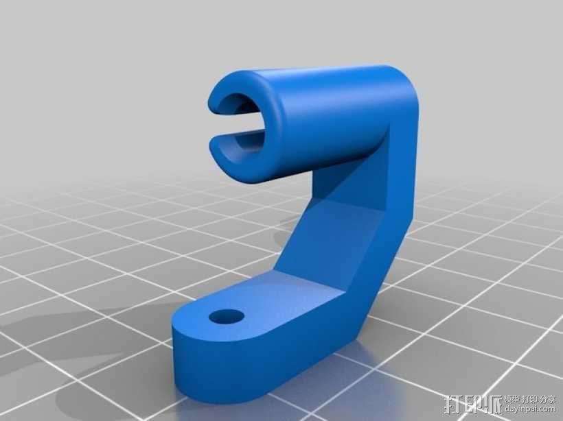 线材导线器 线材清洁器 3D模型  图1