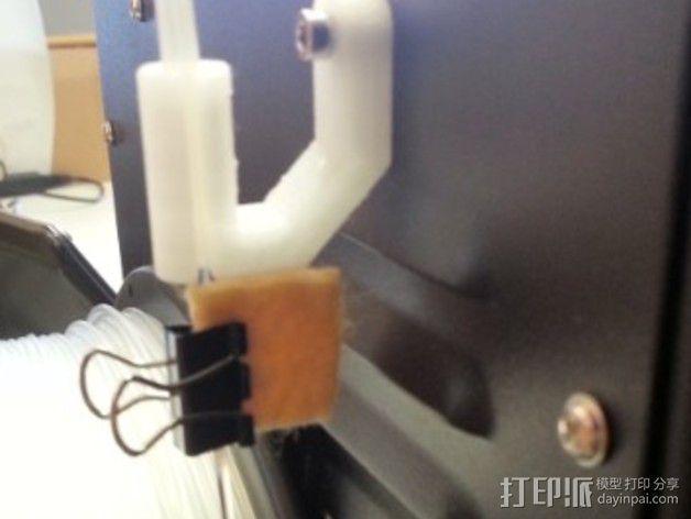 线材导线器 线材清洁器 3D模型  图4