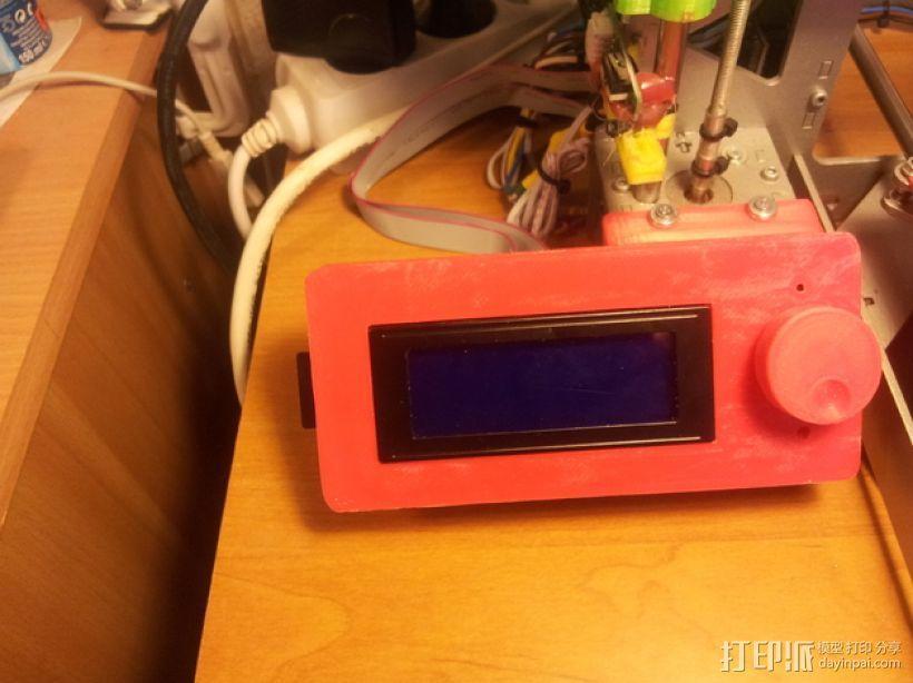 液晶显示屏外框 3D模型  图1