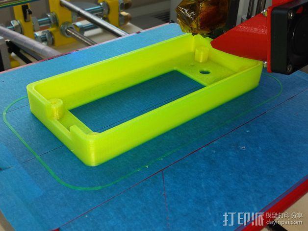 Prusa I3 打印机液晶显示屏支架 3D模型  图3