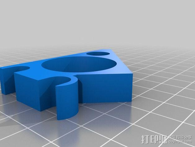 Prusa I3 打印机液晶显示屏支架 3D模型  图8