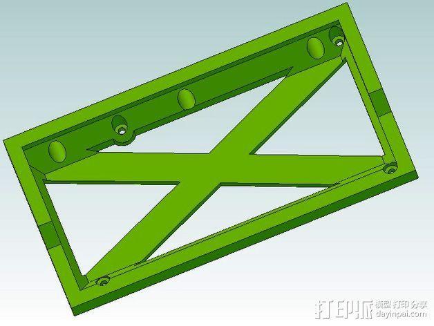 电源保护罩 3D模型  图3
