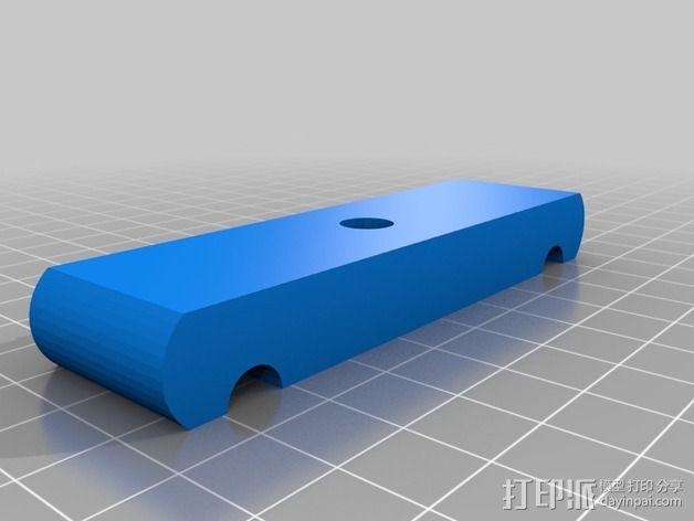 Da Vinci 1.0打印机校准器 3D模型  图1