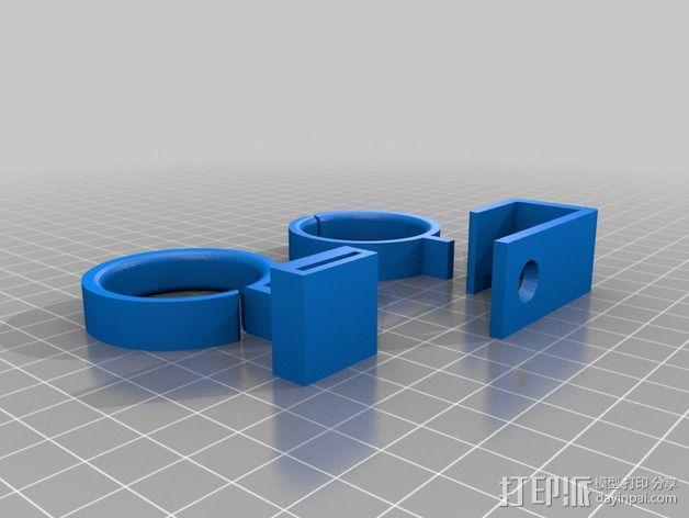 线材导轨 导线器 3D模型  图3