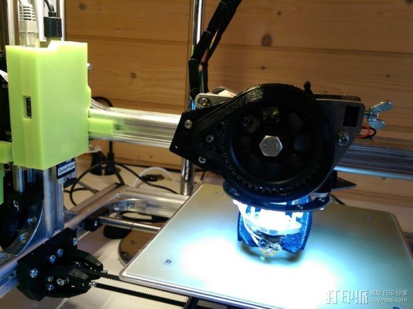 Raspberry Pi树莓派电路板支架 3D模型  图2