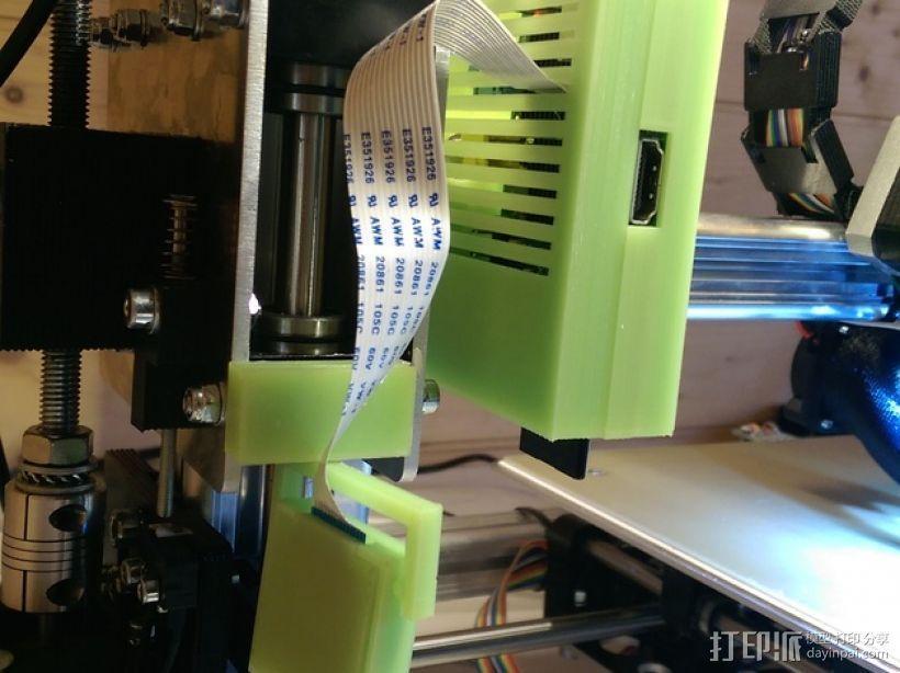 Raspberry Pi树莓派电路板支架 3D模型  图3