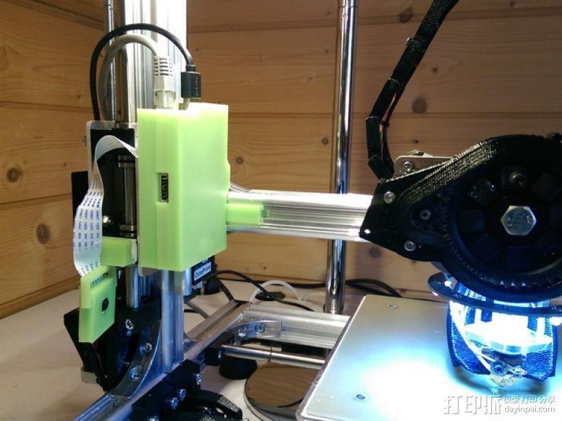 Raspberry Pi树莓派电路板支架 3D模型  图1