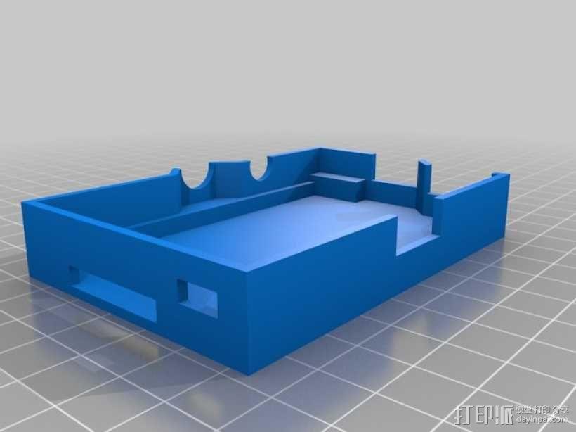 Raspberry Pi树莓派电路板支架 3D模型  图6