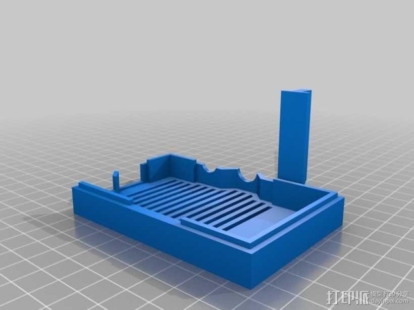 Raspberry Pi树莓派电路板支架 3D模型  图8