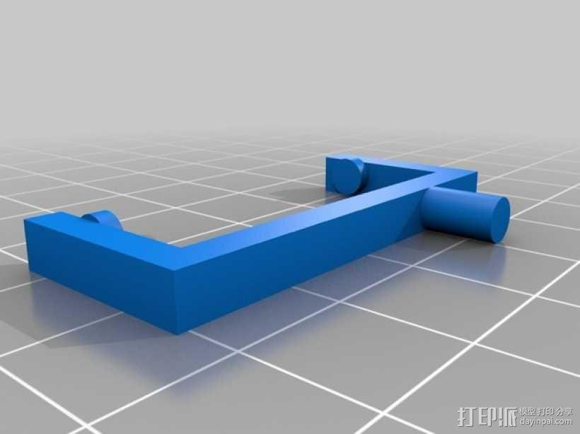 Raspberry Pi树莓派电路板支架 3D模型  图9