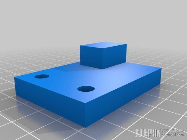 Y轴校准器 3D模型  图1