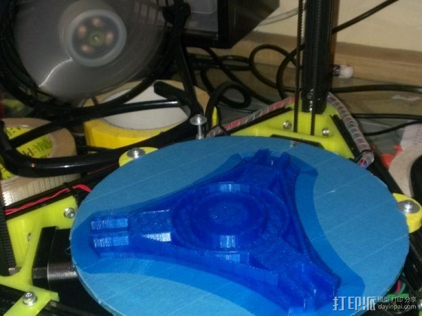 Kossel Mini打印机顶部线轴支架 3D模型  图8