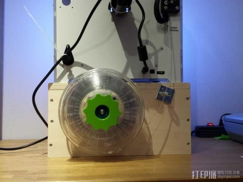 线轴连接器 3D模型  图4