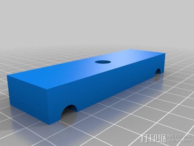 Da Vinci 1.0 打印机校准器 3D模型  图2