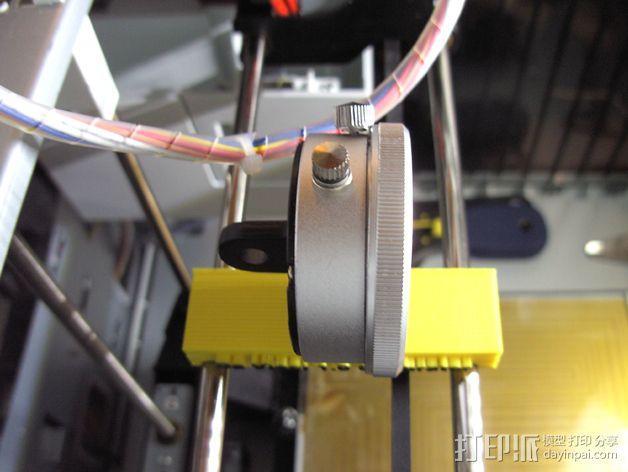 Da Vinci 1.0 打印机校准器 3D模型  图3